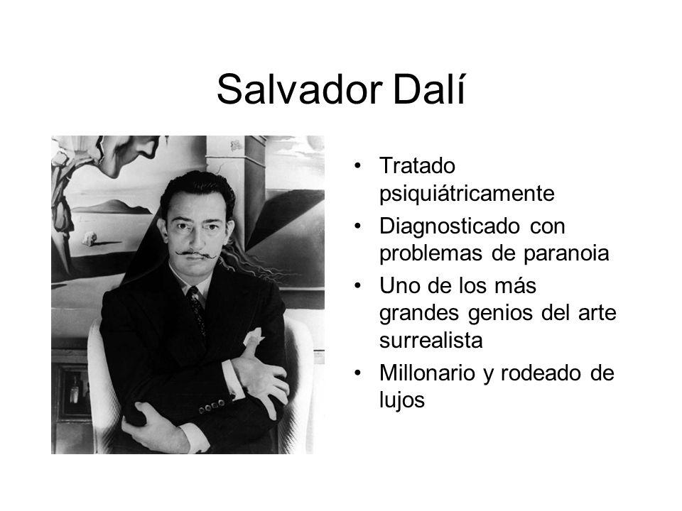 Salvador Dalí Tratado psiquiátricamente