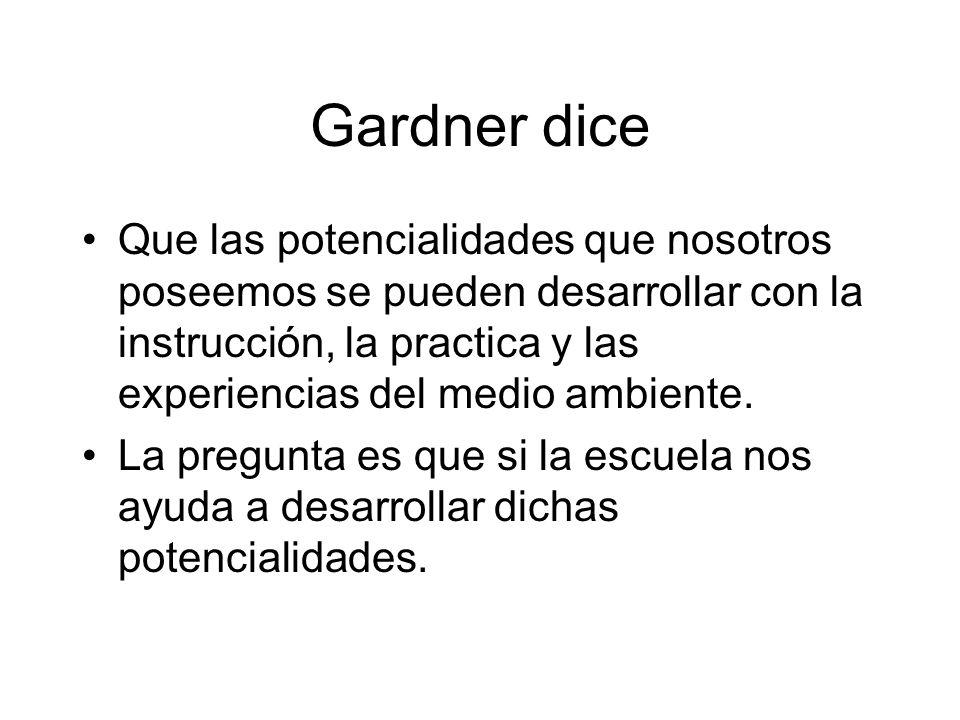 Gardner dice