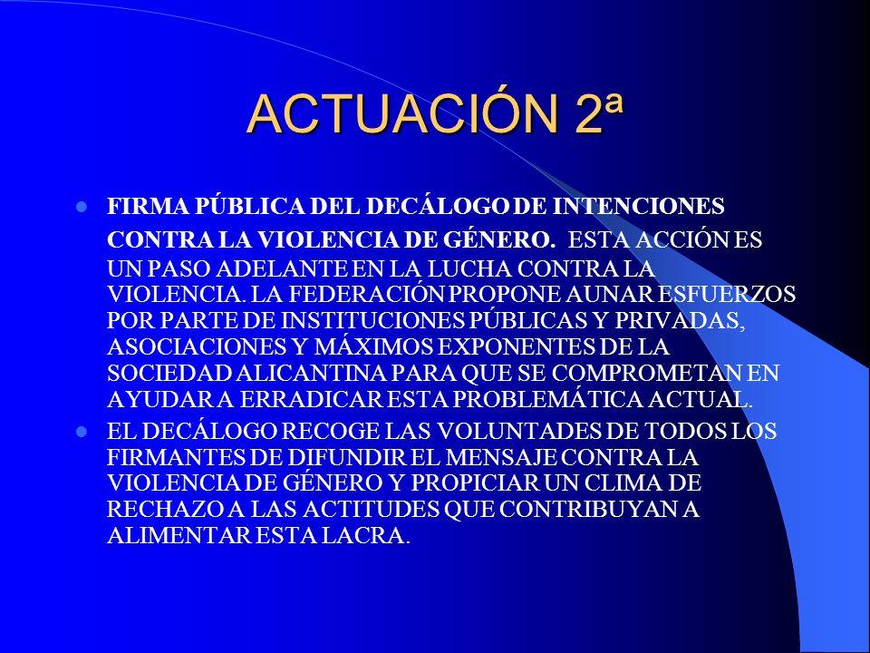 ACTUACIÓN 2ª