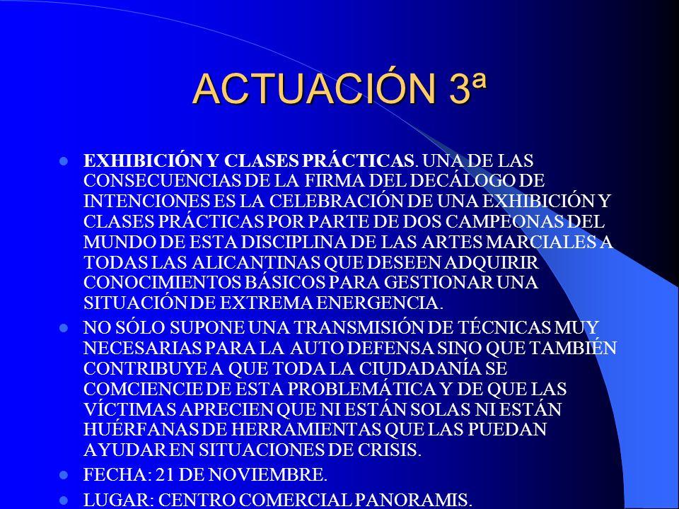 ACTUACIÓN 3ª