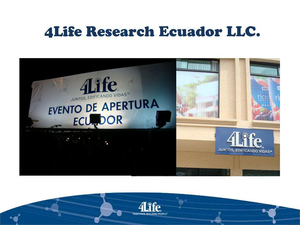 4Life Research Ecuador LLC.