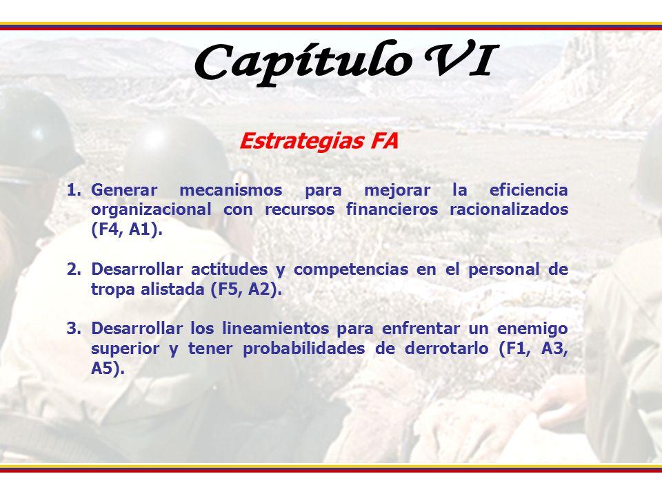 Capítulo VI Estrategias FA