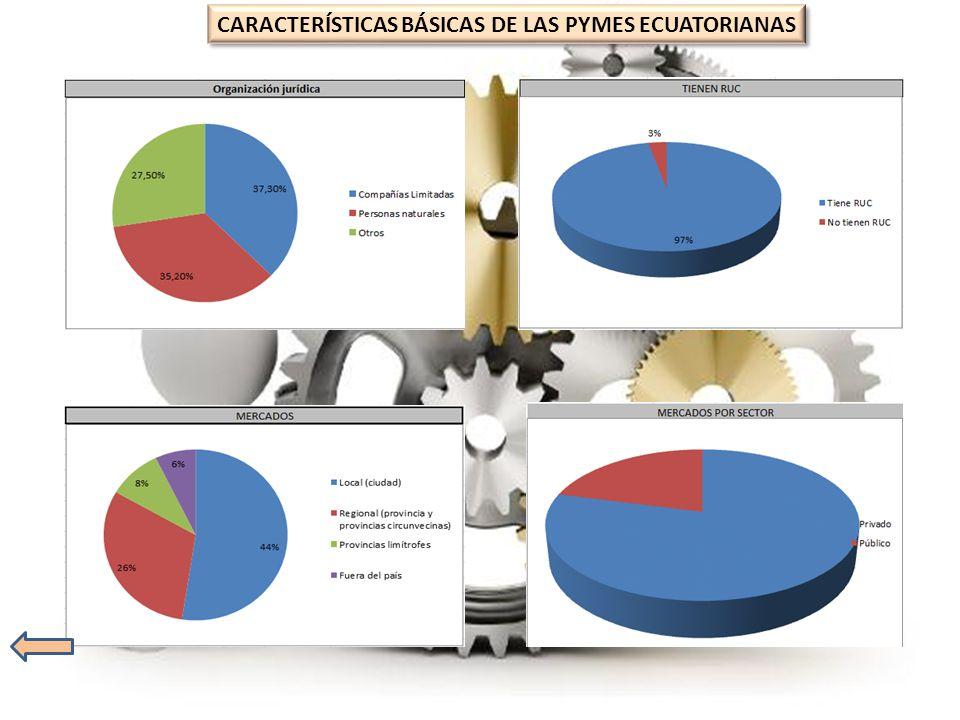 CARACTERÍSTICAS BÁSICAS DE LAS PYMES ECUATORIANAS