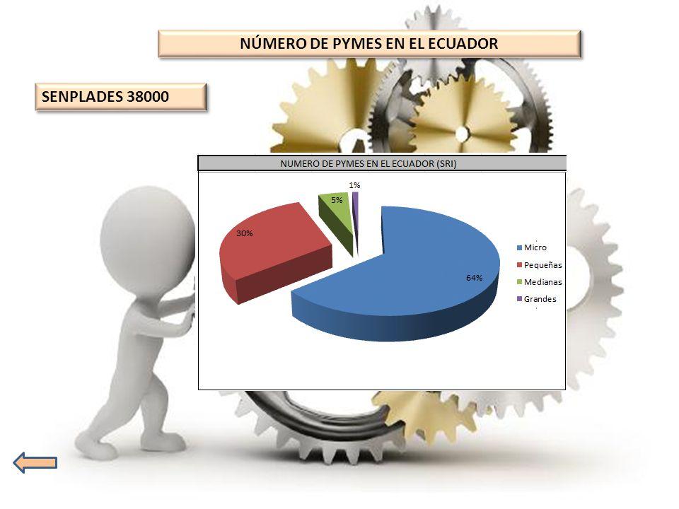 NÚMERO DE PYMES EN EL ECUADOR