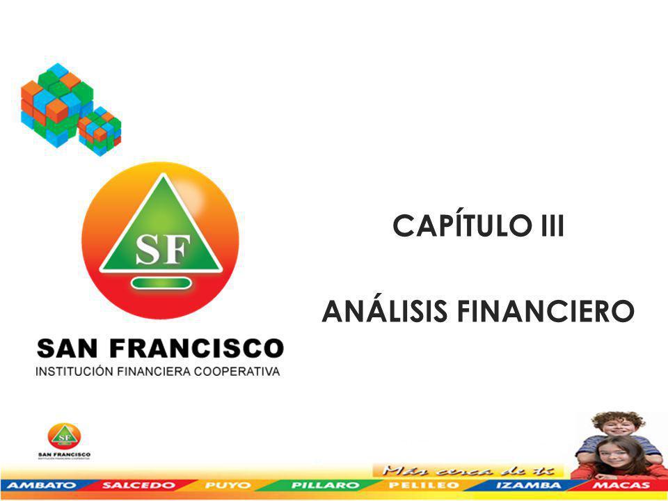 CAPÍTULO III ANÁLISIS FINANCIERO