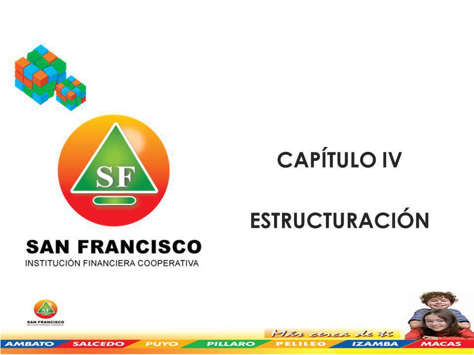 CAPÍTULO IV ESTRUCTURACIÓN