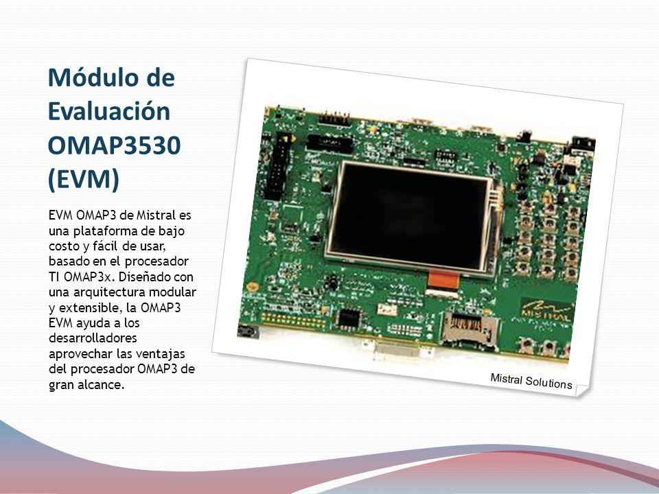 Módulo de Evaluación OMAP3530 (EVM)