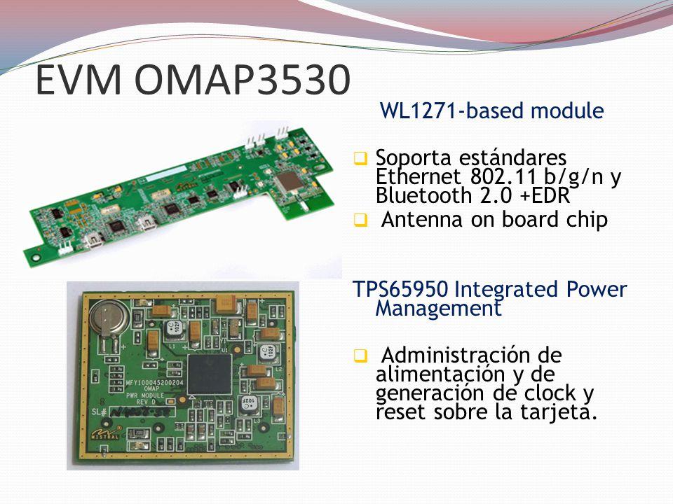 EVM OMAP3530 WL1271-based module