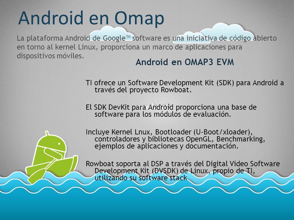 Android en Omap Android en OMAP3 EVM