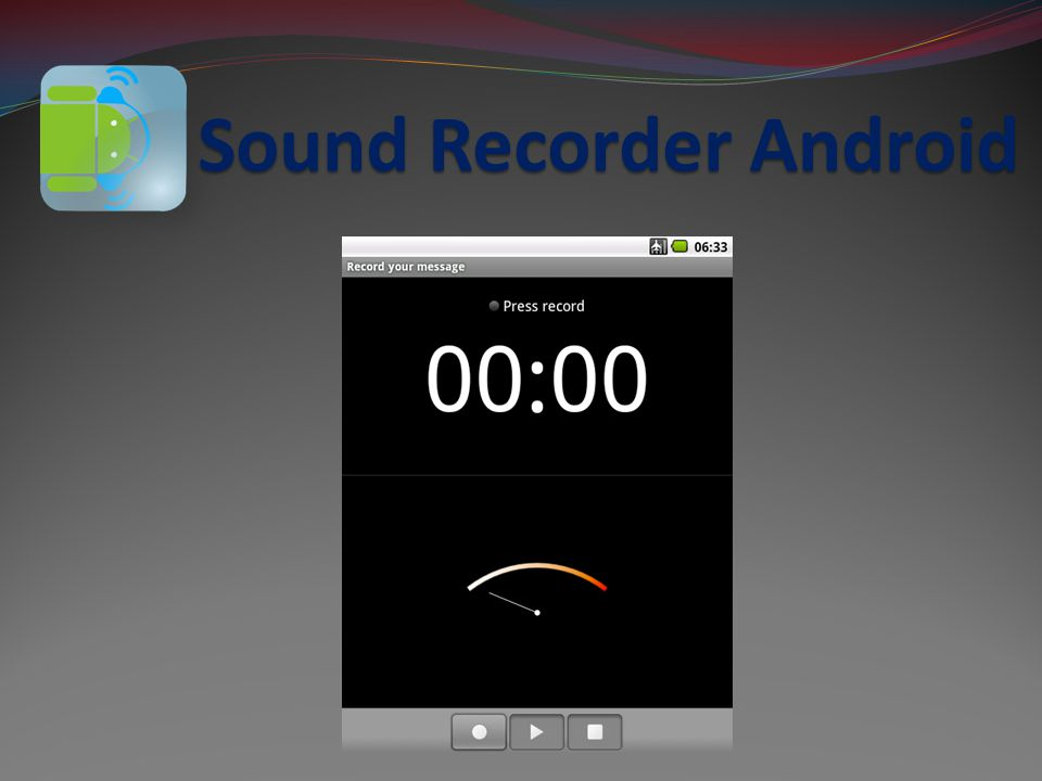 Sound Recorder Android