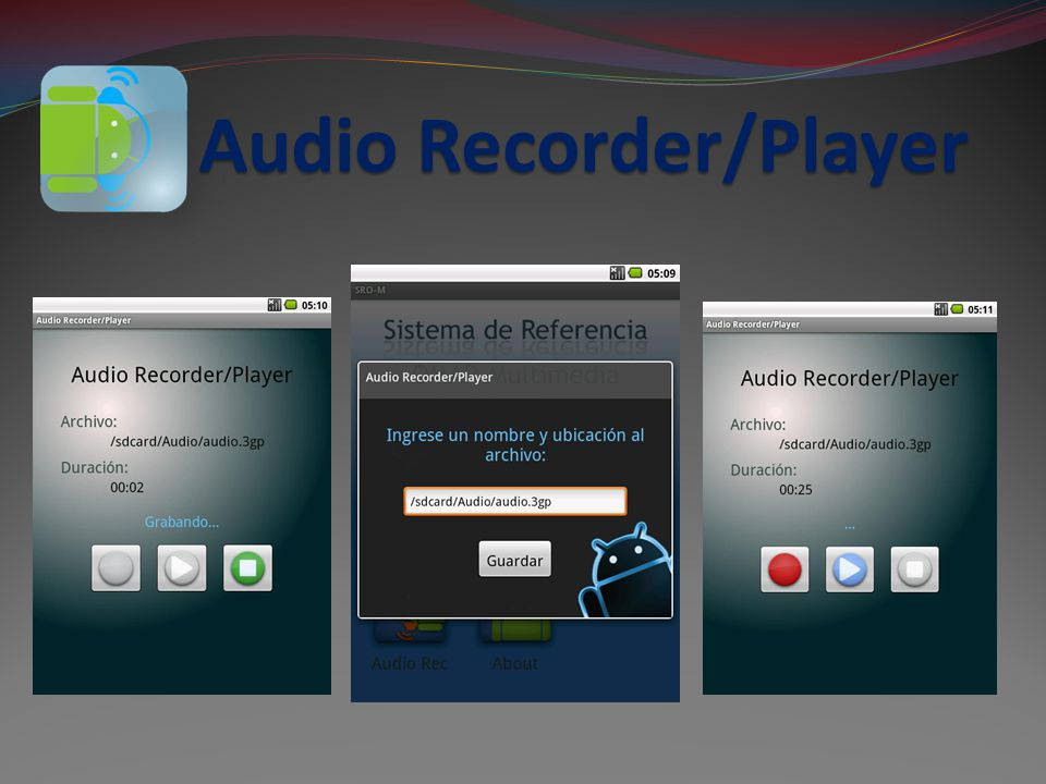 Audio Recorder/Player