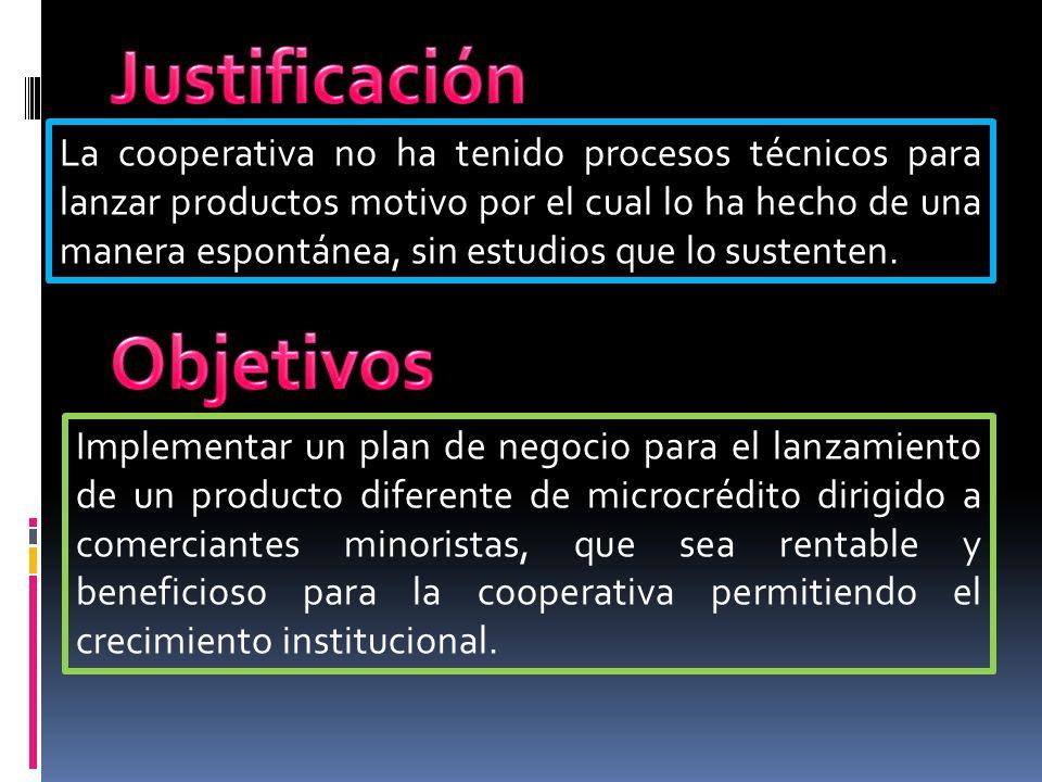 Justificación Objetivos