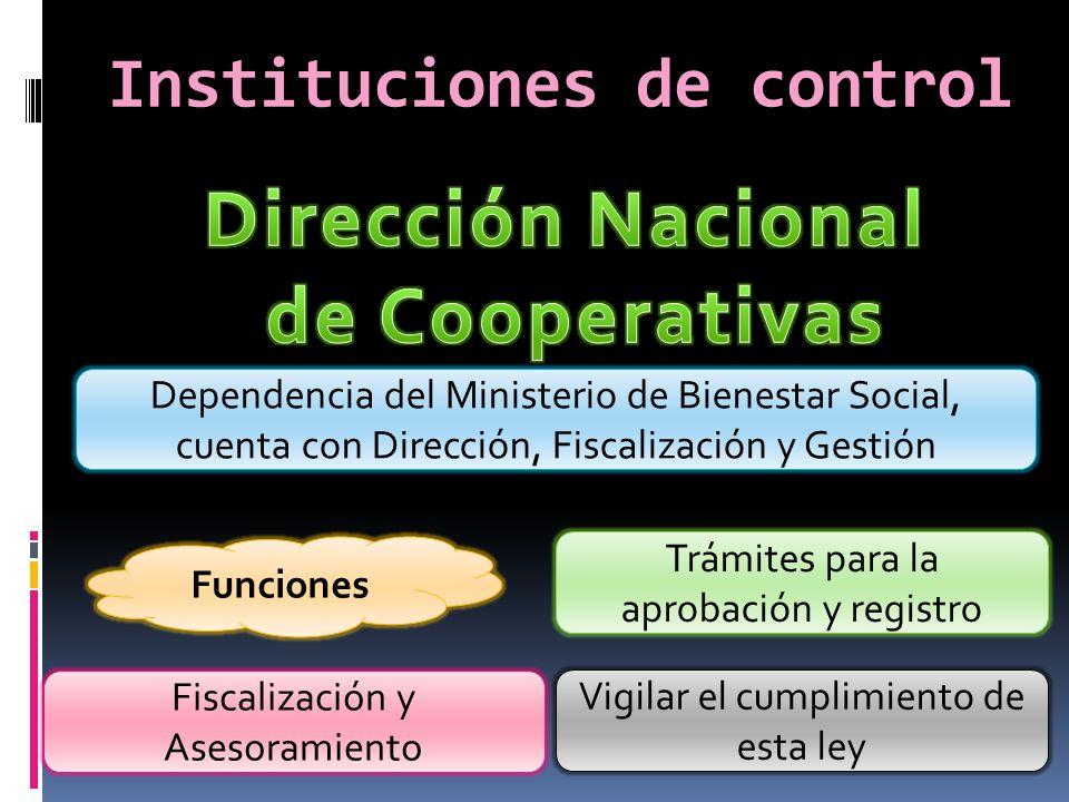 Instituciones de control