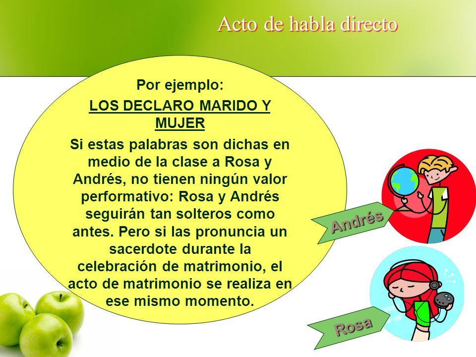 LOS DECLARO MARIDO Y MUJER