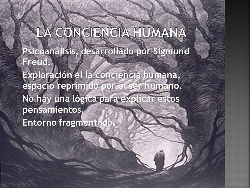 La conciencia humana Psicoanálisis, desarrollado por Sigmund Freud.
