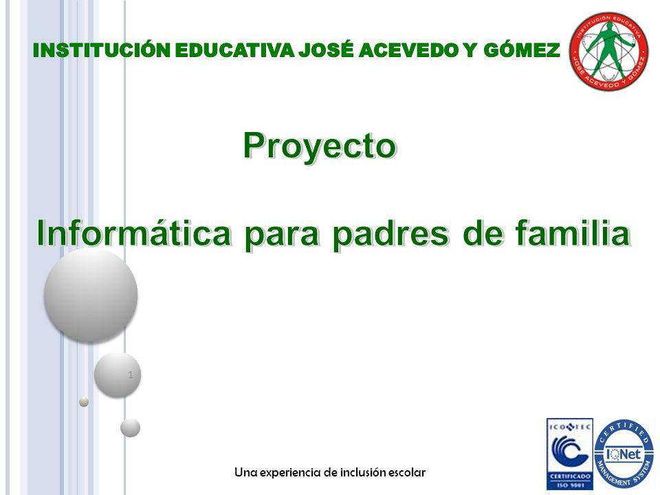 Proyecto Informática para padres de familia