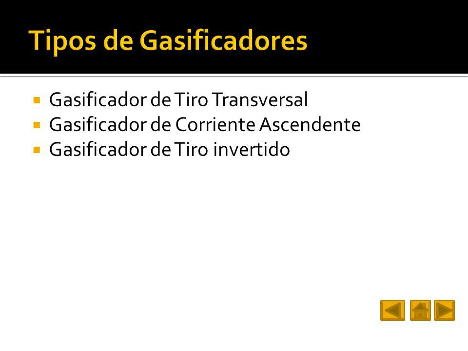 Tipos de Gasificadores