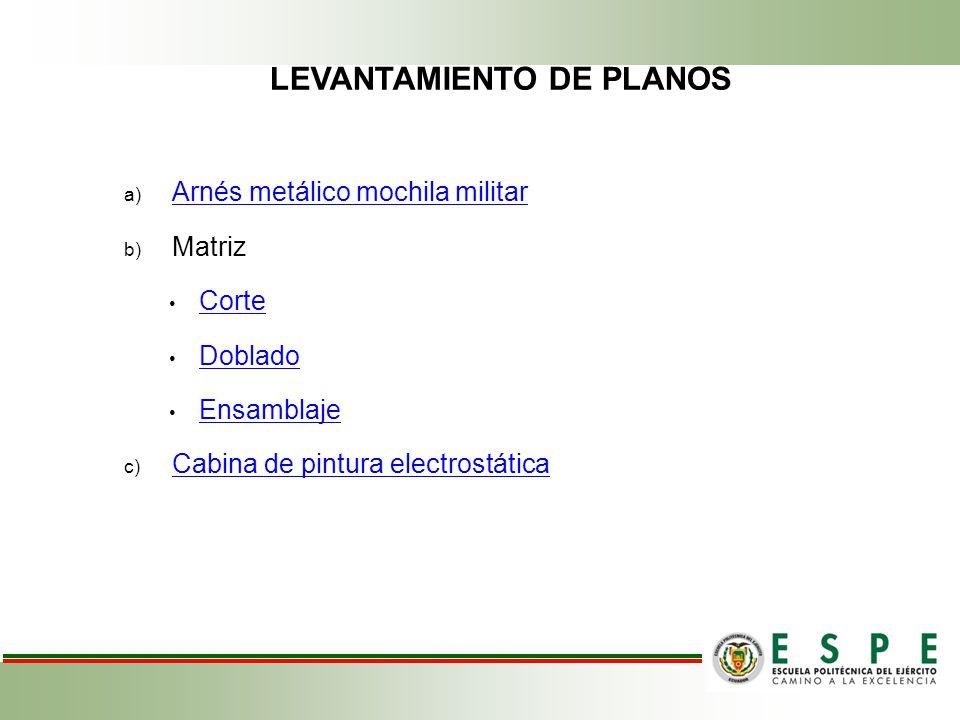 LEVANTAMIENTO DE PLANOS