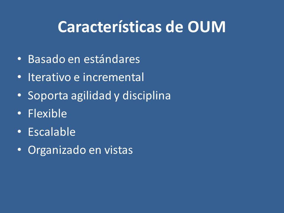 Características de OUM