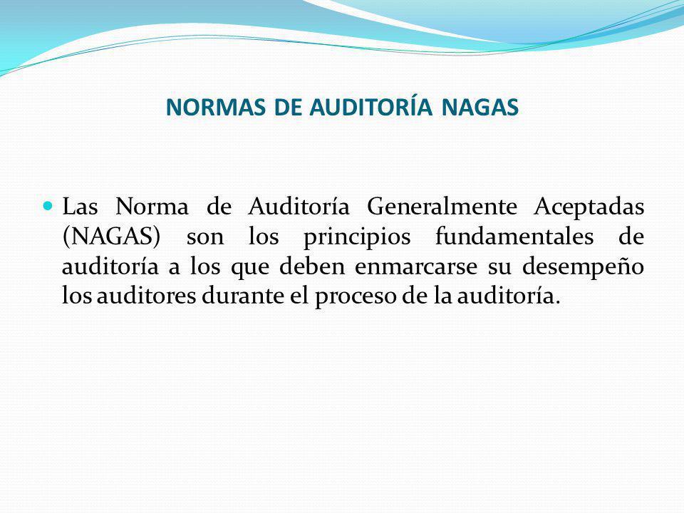 NORMAS DE AUDITORÍA NAGAS