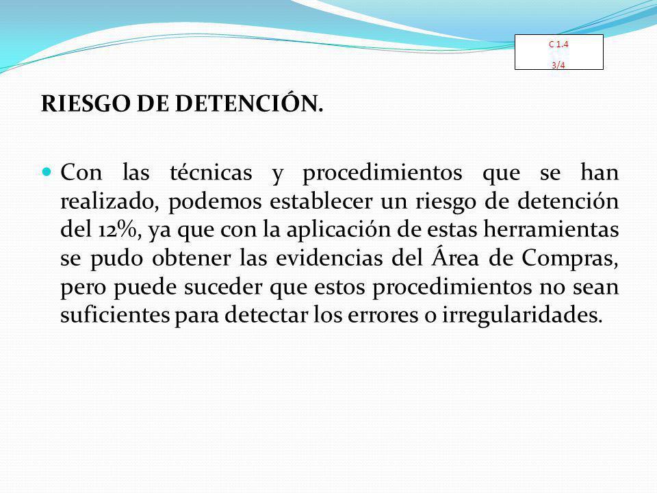 C 1.4 3/4. RIESGO DE DETENCIÓN.