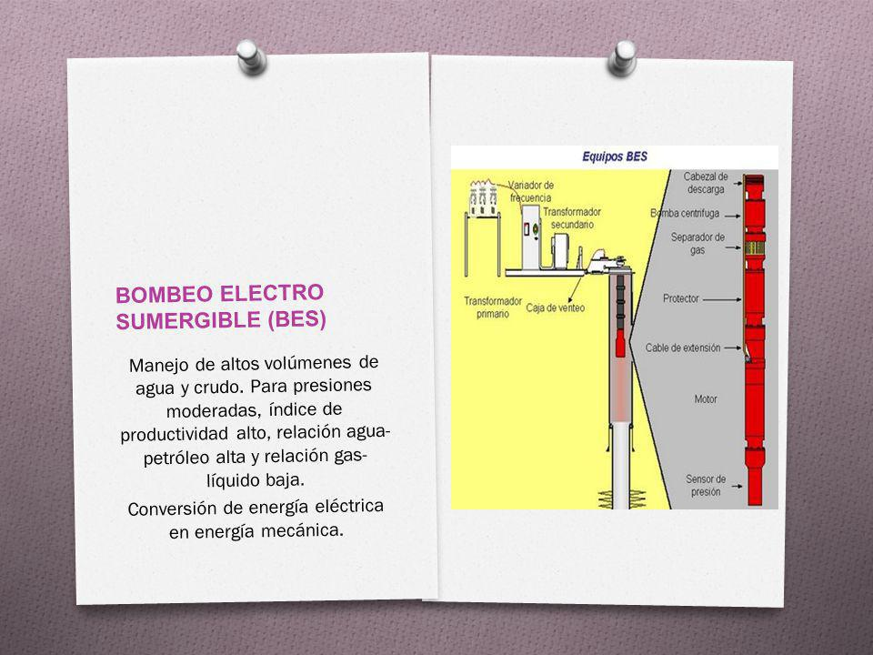 BOMBEO ELECTRO SUMERGIBLE (BES)
