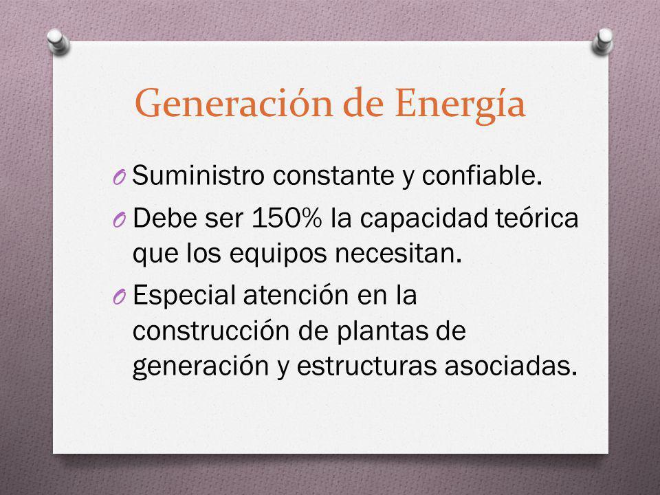 Generación de Energía Suministro constante y confiable.