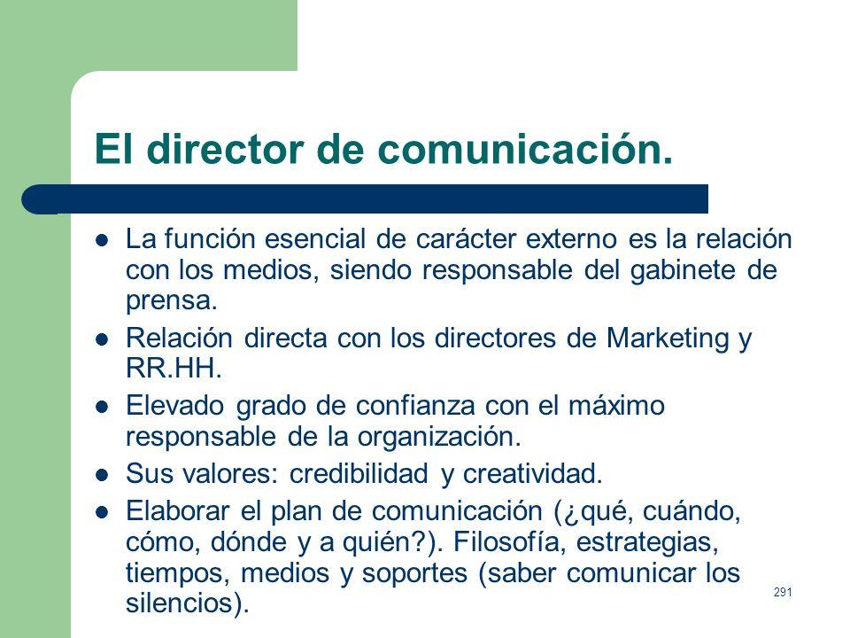 El director de comunicación.