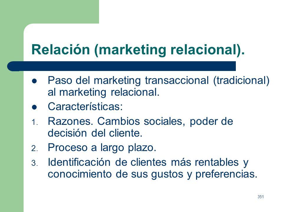 Relación (marketing relacional).