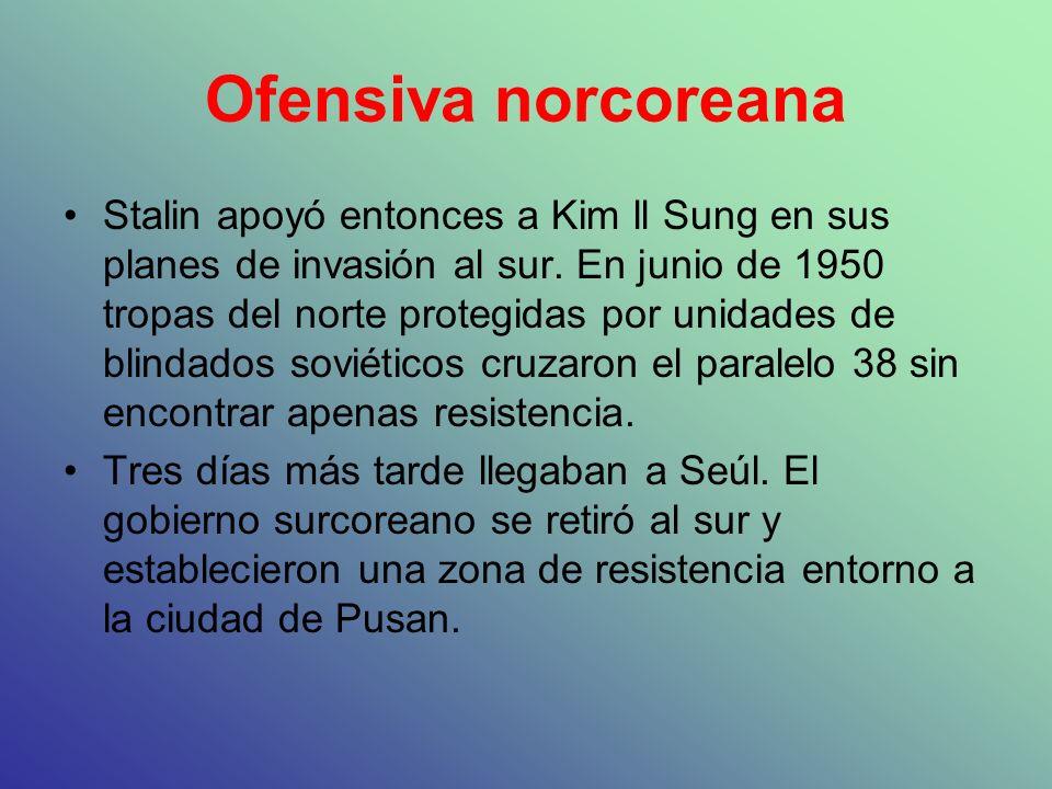 Ofensiva norcoreana