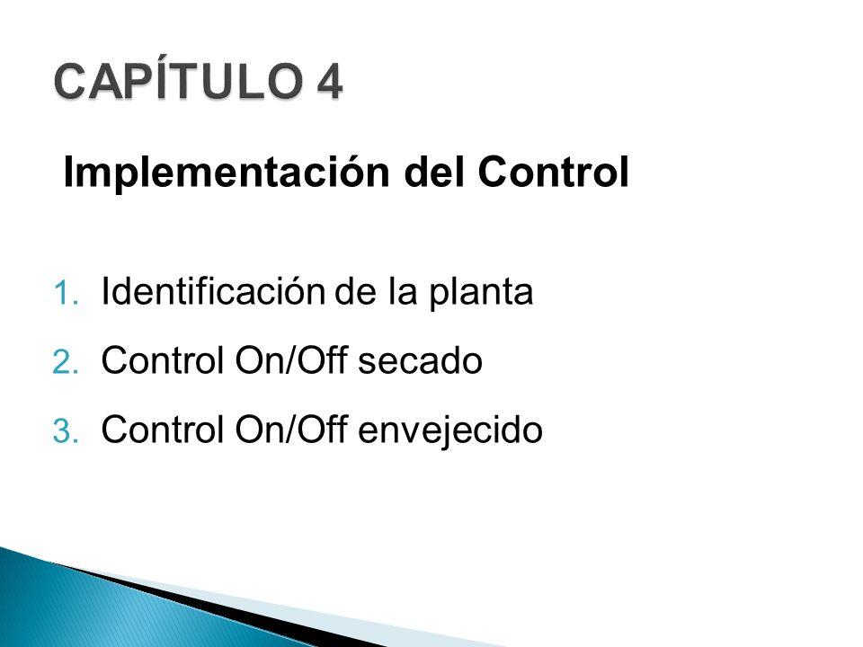 CAPÍTULO 4 Implementación del Control Identificación de la planta