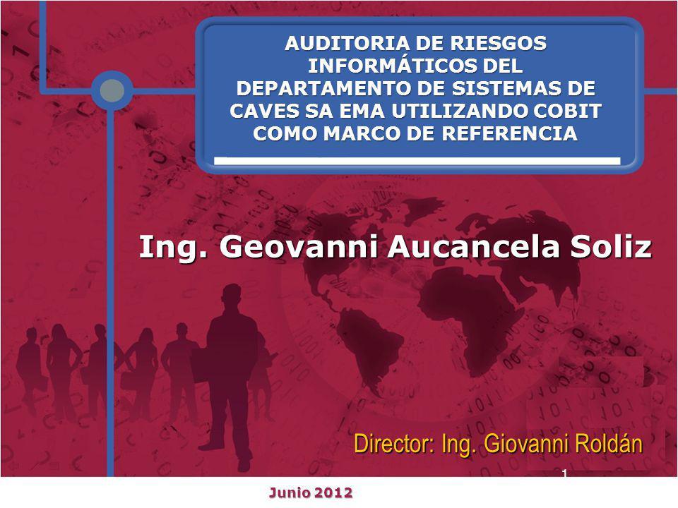 Ing. Geovanni Aucancela Soliz