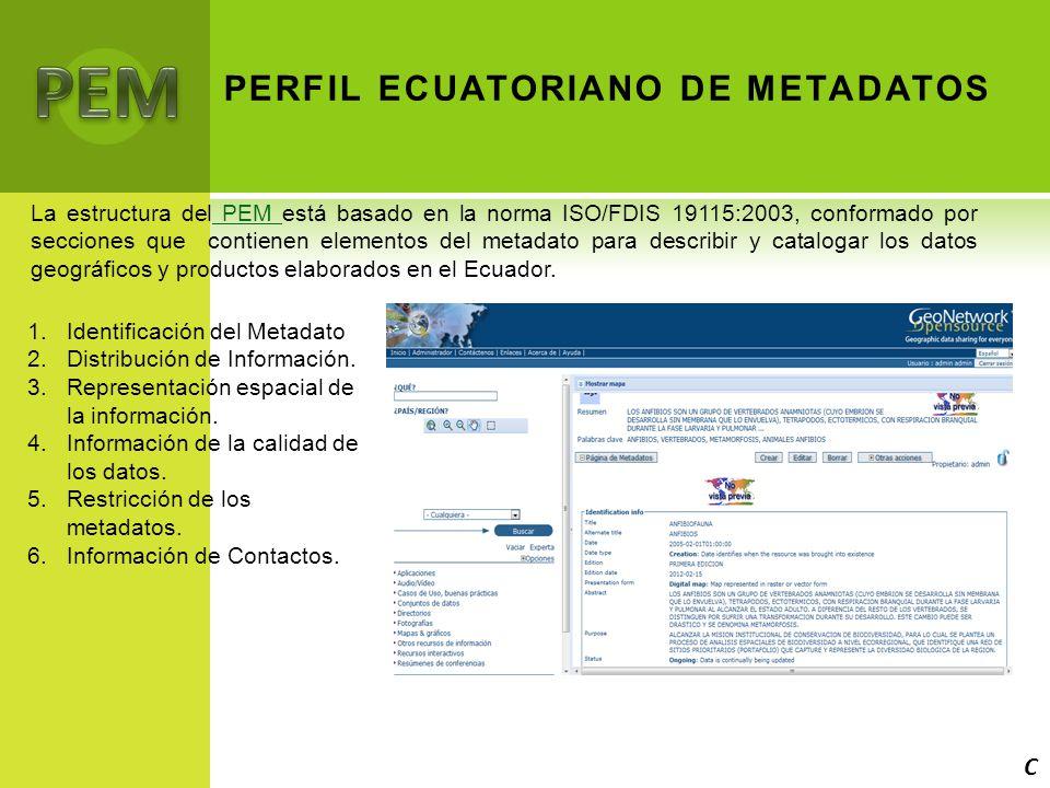 PERFIL ECUATORIANO DE METADATOS
