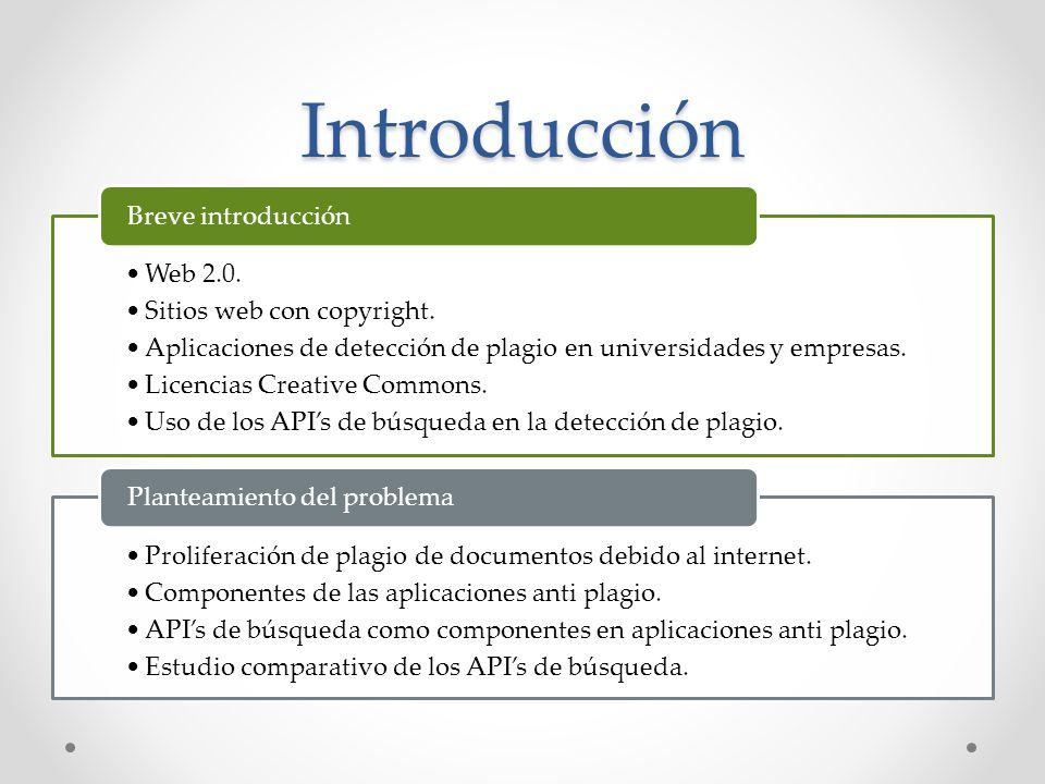 Introducción Web 2.0. Sitios web con copyright.