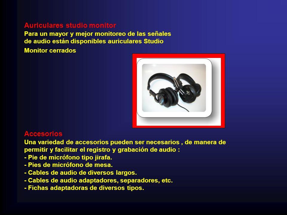 Auriculares studio monitor