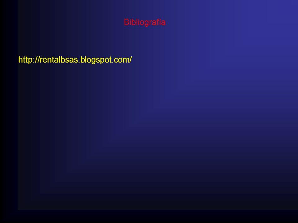 Bibliografía http://rentalbsas.blogspot.com/