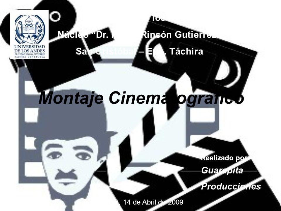 Montaje Cinematografico
