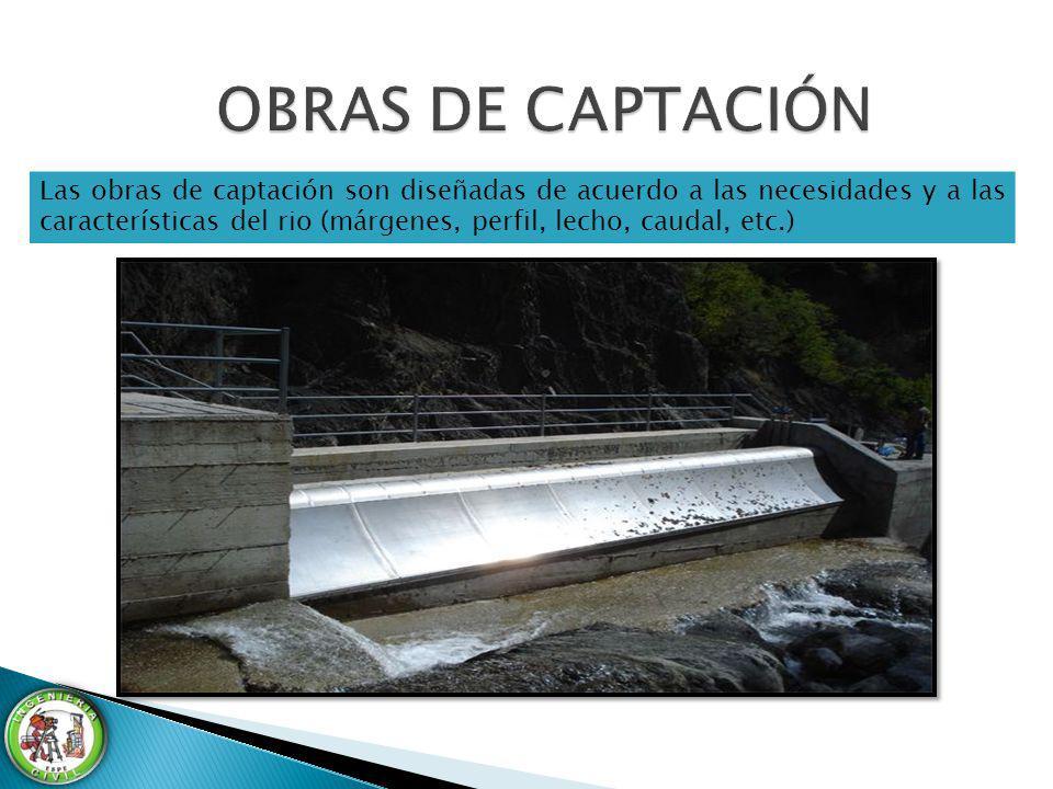 OBRAS DE CAPTACIÓN