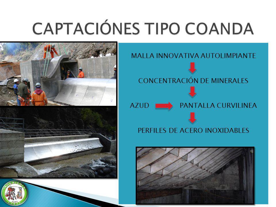 CAPTACIÓNES TIPO COANDA