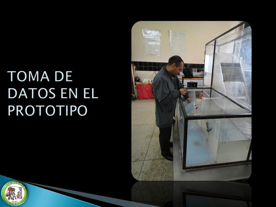 TOMA DE DATOS EN EL PROTOTIPO