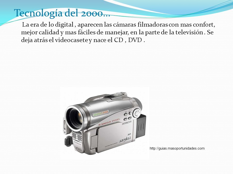 Tecnología del 2000…