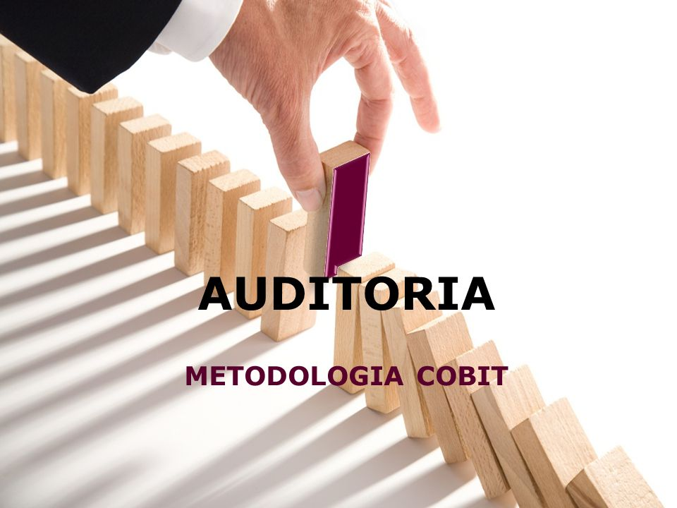AUDITORIA METODOLOGIA COBIT