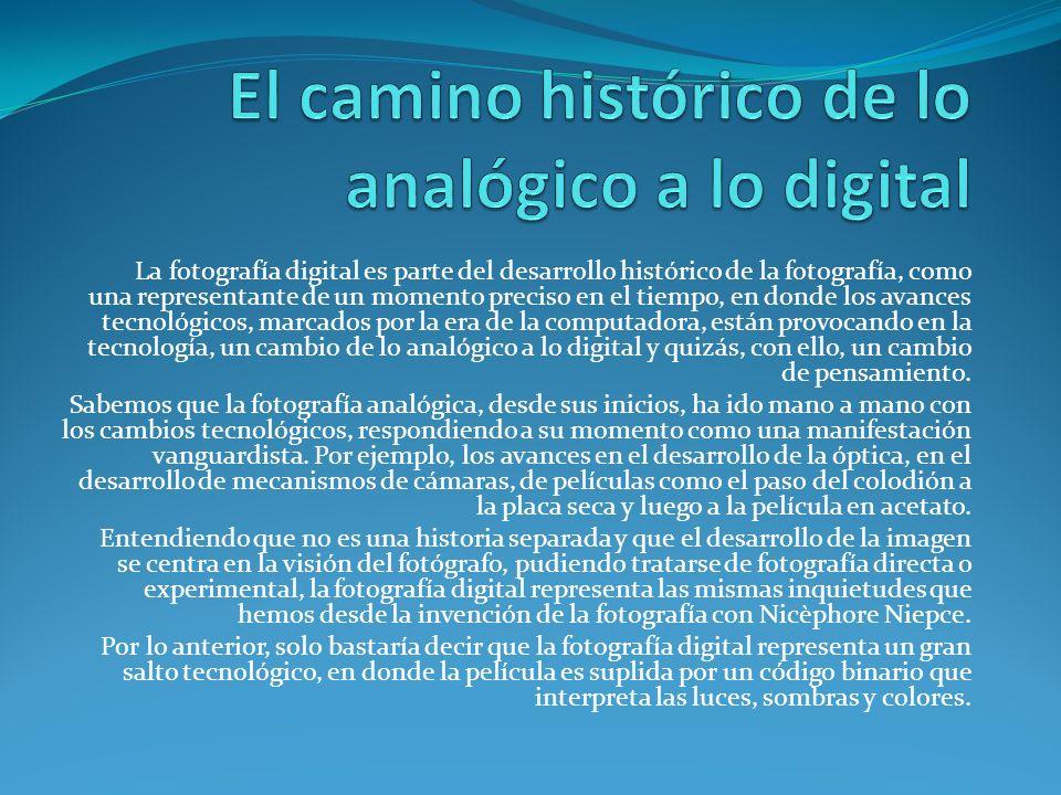 El camino histórico de lo analógico a lo digital