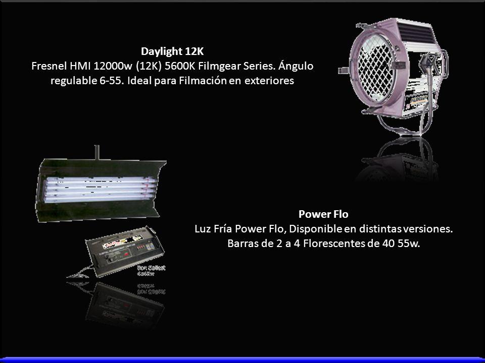 Daylight 12K Fresnel HMI 12000w (12K) 5600K Filmgear Series. Ángulo regulable 6-55. Ideal para Filmación en exteriores.