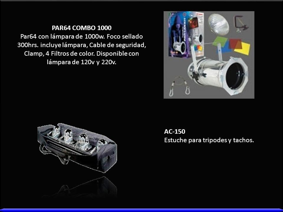 PAR64 COMBO 1000