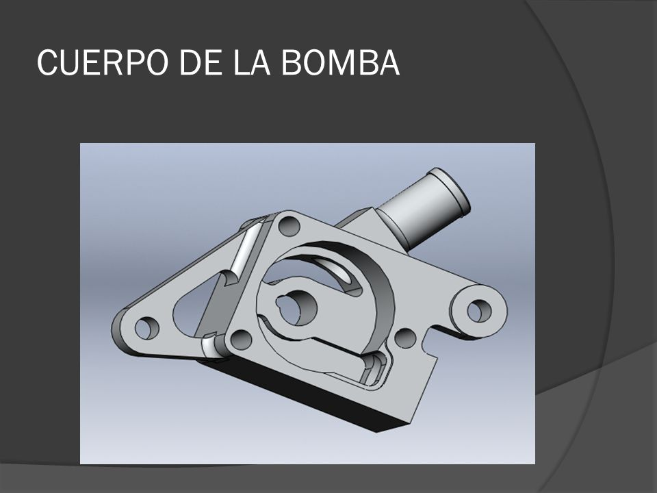 CUERPO DE LA BOMBA