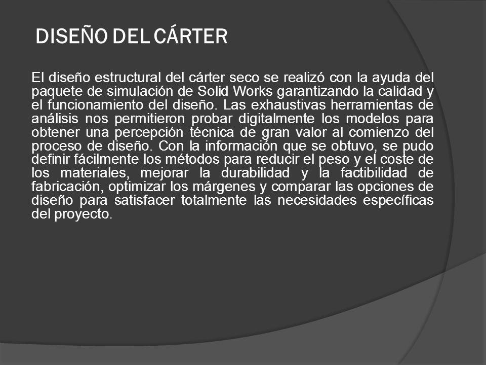 DISEÑO DEL CÁRTER