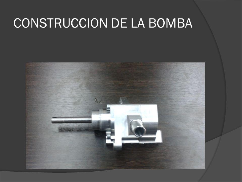 CONSTRUCCION DE LA BOMBA