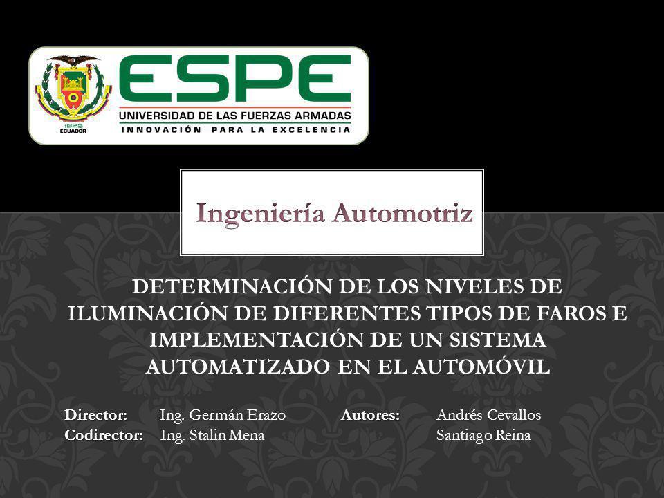 Ingeniería Automotriz