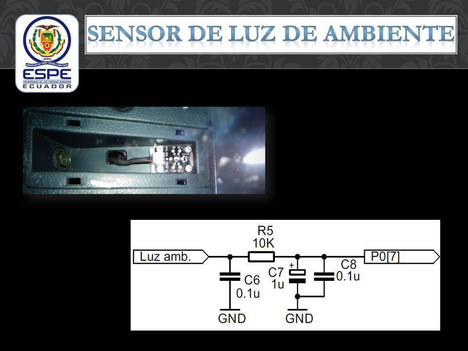 Sensor de luz de ambiente